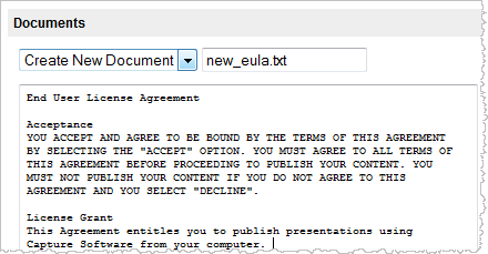 Adding Eula To Advanced Settings Desire2learn Resource Center
